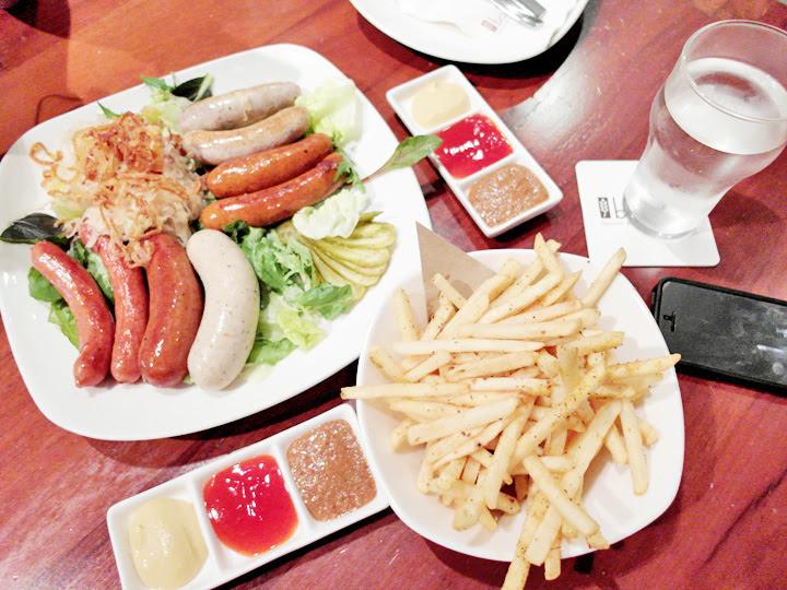 Brotzeit sausages