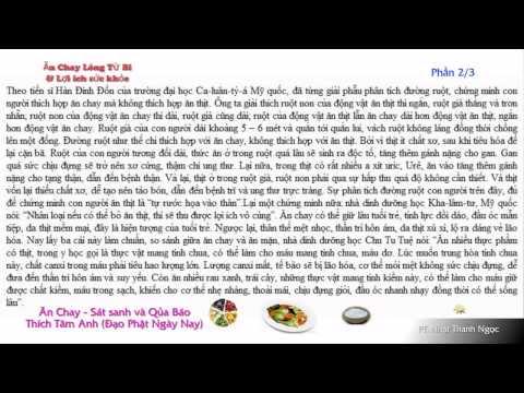 Ăn Chay, Sát Sanh Và Quả Báo (Có Phụ Đề)