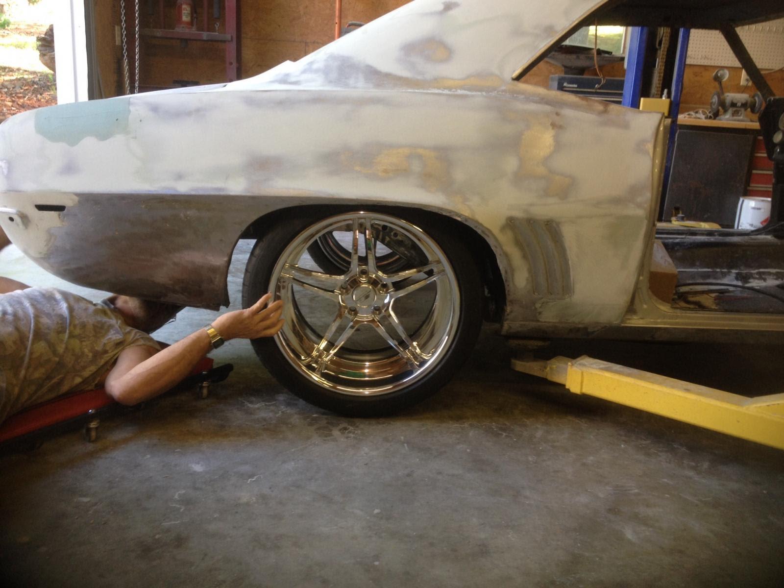 Billet Specialties Pro Touring Daytona Wheels Michelin Pilot Super Sport Tires