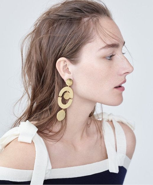Le Fashion Blog Must Have Stacked Circle Earrings Via Jcrew
