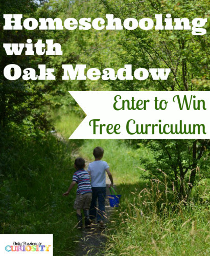 Homeschooling with Oak Meadow