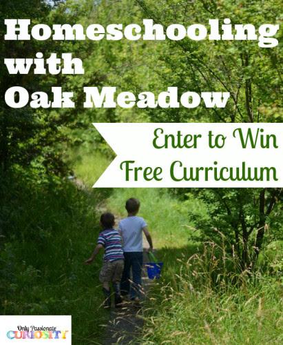 Homeschooling with Oak Meadow