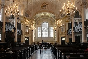 Interior of St Martin-in-the-Fields, Anglican ...