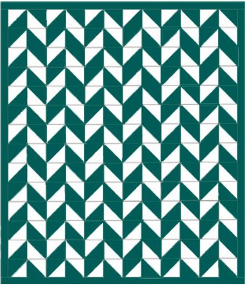 Royal Green Ireland Quilt