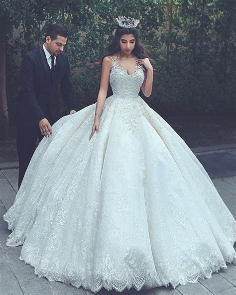 lace wedding gowns,princess wedding dress,ball gowns