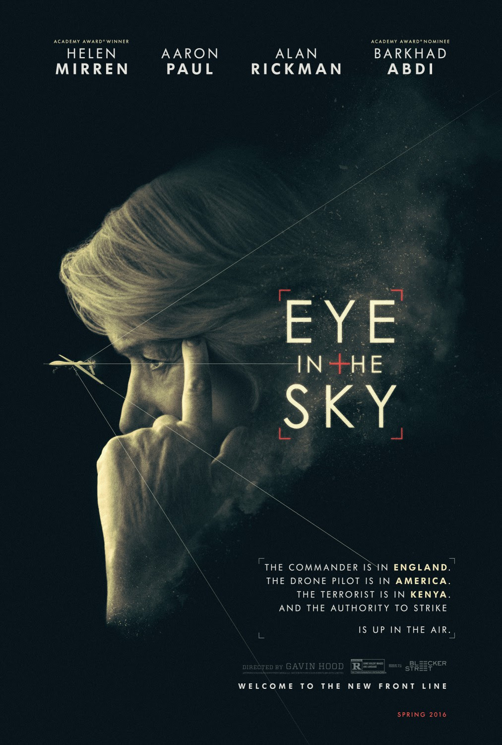 Resultado de imagem para movie poster eye in the sky