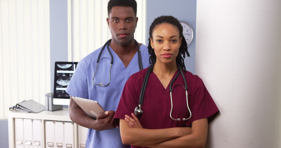 Image result for black doctors in hospital