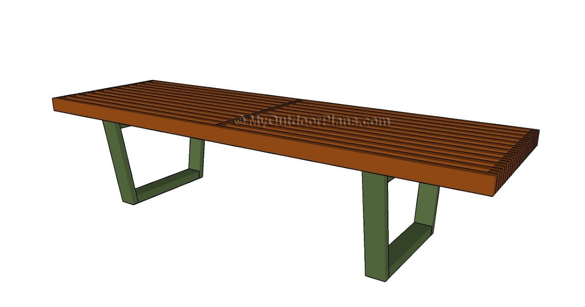 Outdoor wooden bench plans norwegian wood for Garden table designs wood