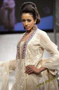 Latest Party Wears Dresses By Rizwana At PFW UK 2011 4 style.pk