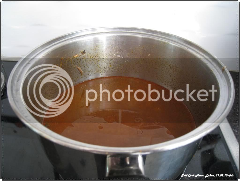 Asam Laksa Soup