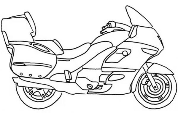 ausmalbilder motorradhelm