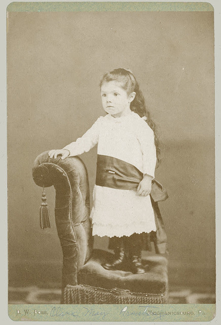 Cabinet Card small girl