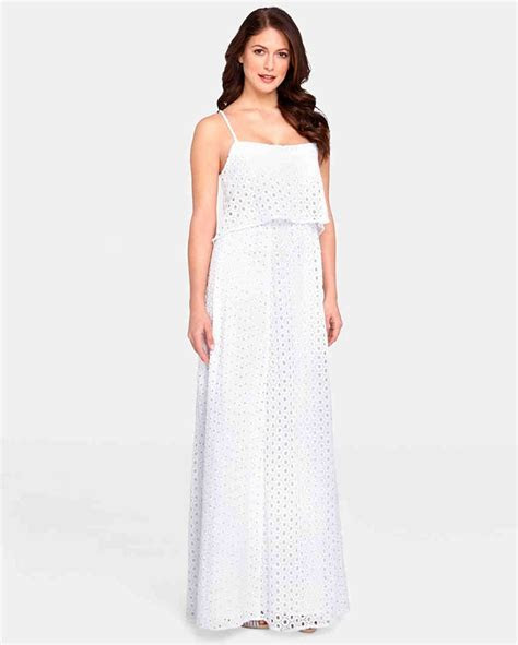 Simple White Dress For Civil Wedding Naf Dresses   Wedding