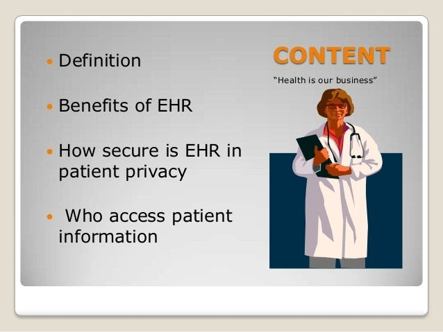Define Electronic Medical Record