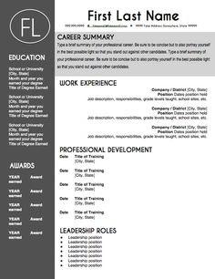 editable resume template stock vector stock photos bigstock ...