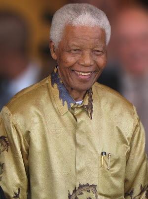 Mandela tem reconhecimento mundial (Wikimedia/South Africa The Good News)