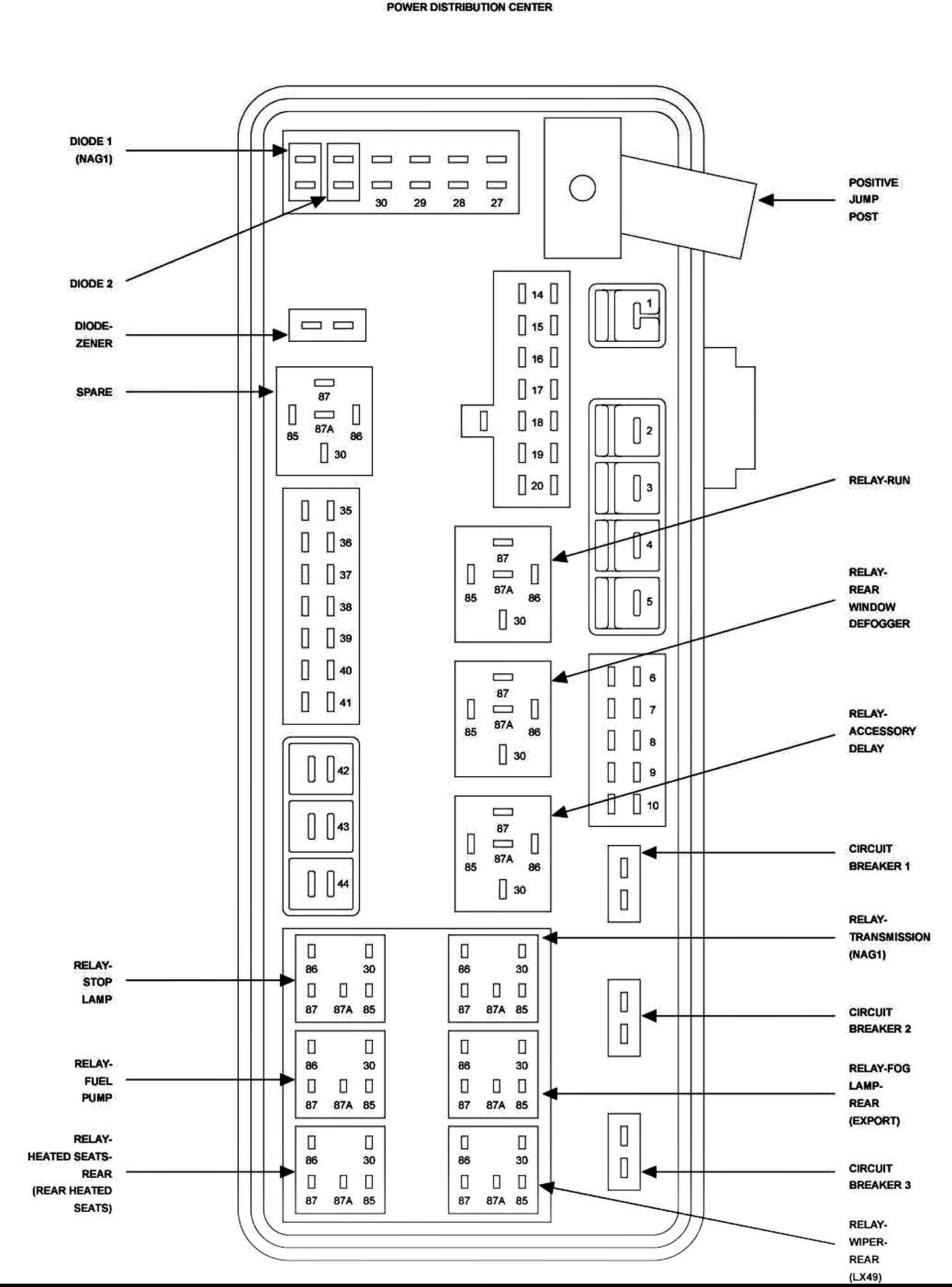 Diagram 08 Dodge Charger Fuse Diagram Full Version Hd Quality Fuse Diagram Schematic Pr Media90 It