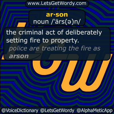 arson 12/09/2014 GFX Definition