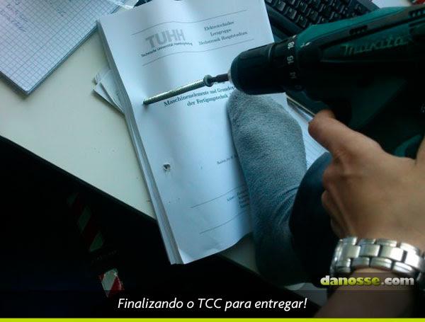 Finalizando o TCC