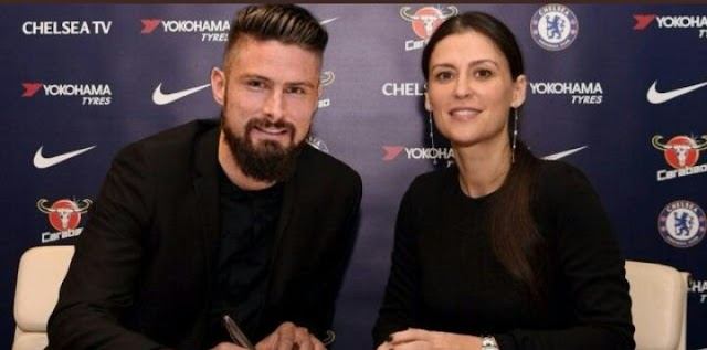 Chelsea Signs Olivier Giroud From Arsenal