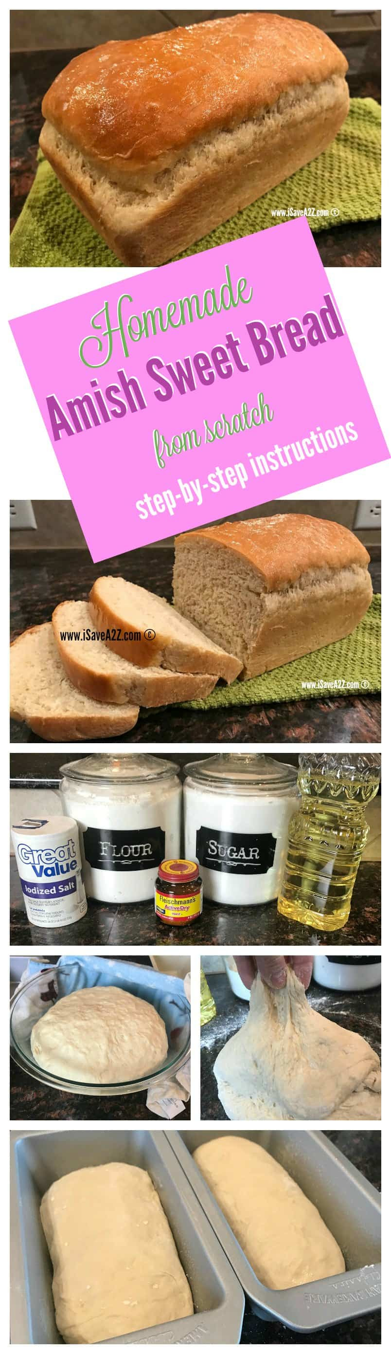 Homemade Amish Sweet Bread Recipe with Step by Step ...