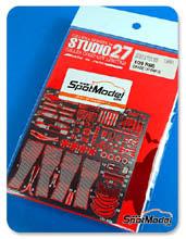 Fotograbados 1/24 Studio27 - RB8 para kit de Revell 07074