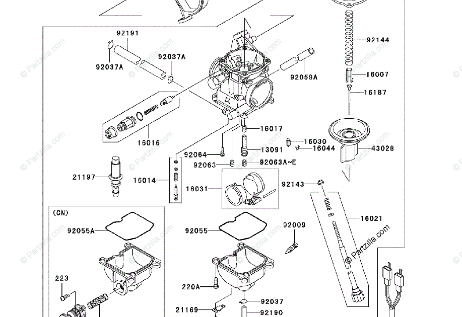 31 Kawasaki Prairie 650 Parts Diagram