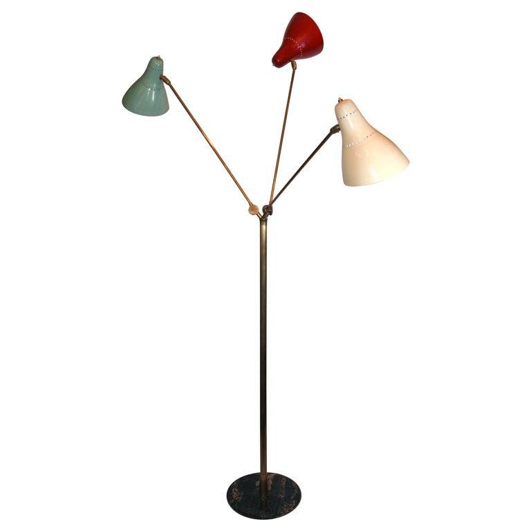 Articulated Floor Lamp Kids Art Decorating Ideas