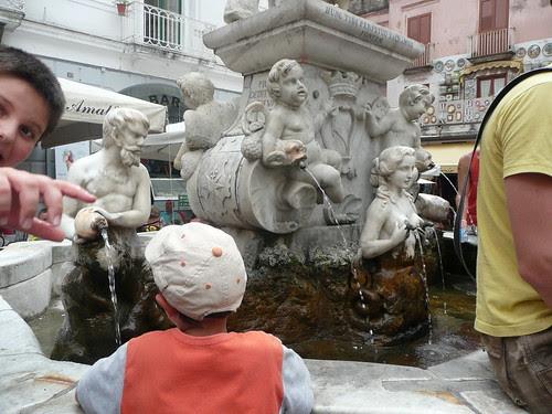 Amalfi - fontana