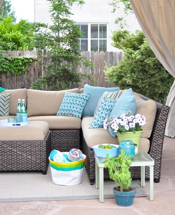 Centsational Girl » Blog Archive One Day Outdoor Room Makeover