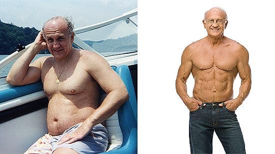 A Cenegenics diz que o 'antes' e 'depois' do médico Jeffrie Life não é montagem