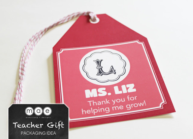 Teacher Gift - Packaging Idea3