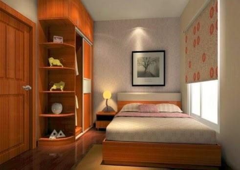 interior kamar tidur kecil sederhana ~ arsitek furniture