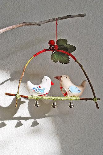 Woodland Love Birds