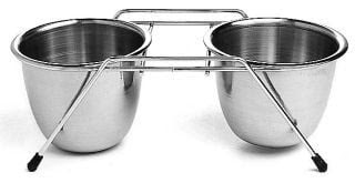 Ethical Ss Dishes Stainless Steel Double Diner 1 Quart - 6377