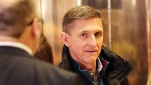 NEW YORK, NY - NOVEMBER 29:  General Mike Flynn, Donald Trump's new national security adviser, arrives at Trump Tower on November 29, 2016 in New York City. President-elect Donald Trump and his transition team are in the process of filling cabinet and other high level positions for the new administration.  (Photo by Spencer Platt/Getty Images)