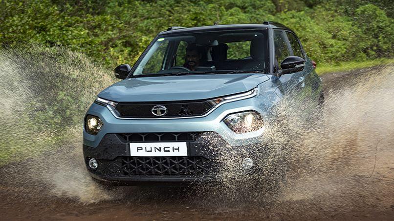 The Tata Punch will slot in below the Nexon in Tata's SUV range. Image: Tata Motors