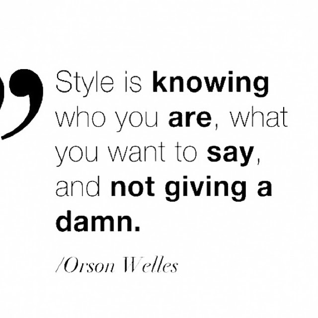 fashion quote citate of the day style fashion blogger belgium instagram