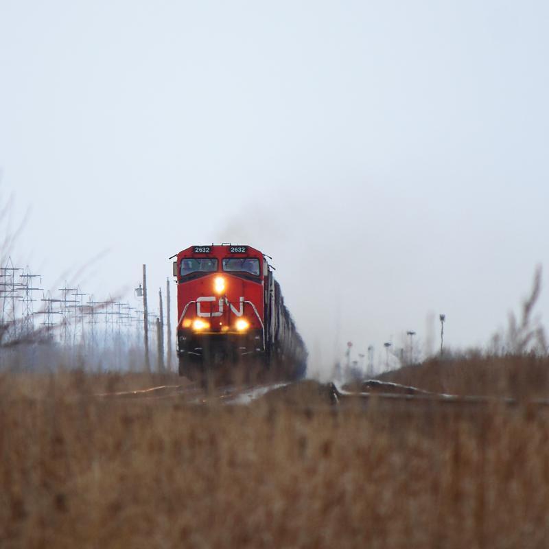 CN 2632 near Winnipeg, MB