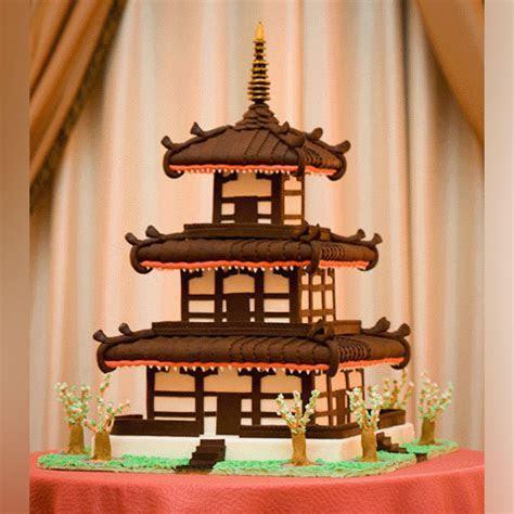 Japanese pagoda cake.   ~ Amazing Cakes ~   Pinterest