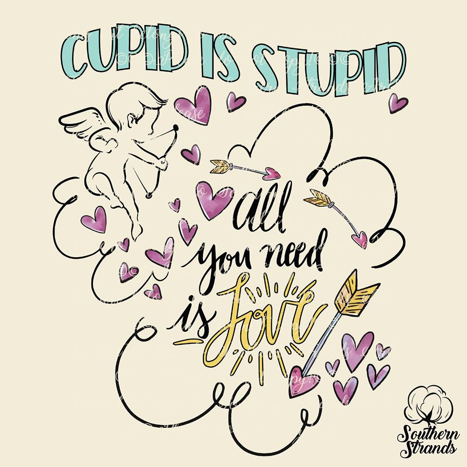 Download Cupid is Stupid All You Need is Love Valentines ...