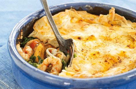 Galician-style seafood pie | Tesco Real Food