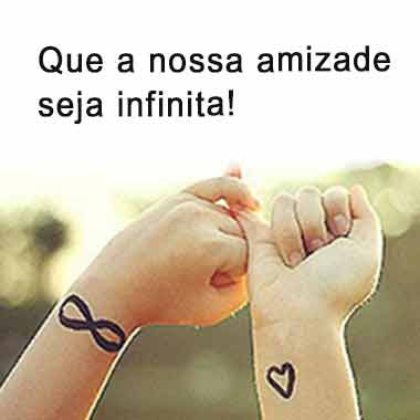 Amizade Infinita Status E Imagens