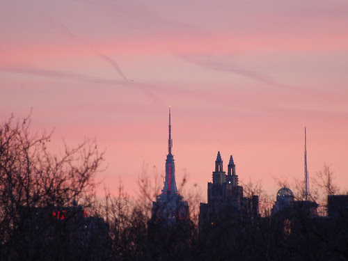 ESB at Sunset