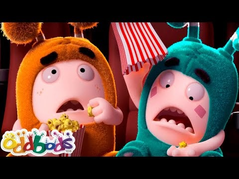 Oddbods 😵 AT THE MOVIES 😵 Funny Cartoons For Kids