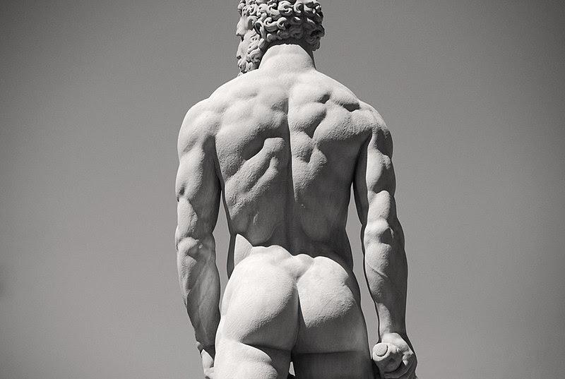 Hercules by Baccio Bandinelli