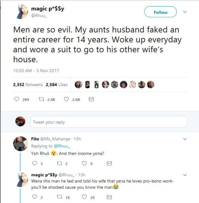 Man Fakes His Career For 14 Years To Wife, Goes To Another Woman - Twitter User