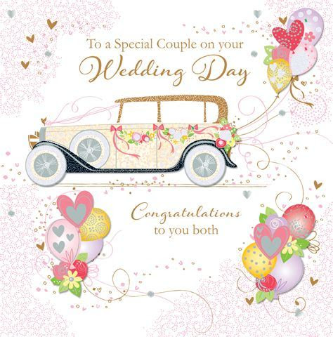 Special Couple Wedding Day Greeting Card   Cards   Love Kates