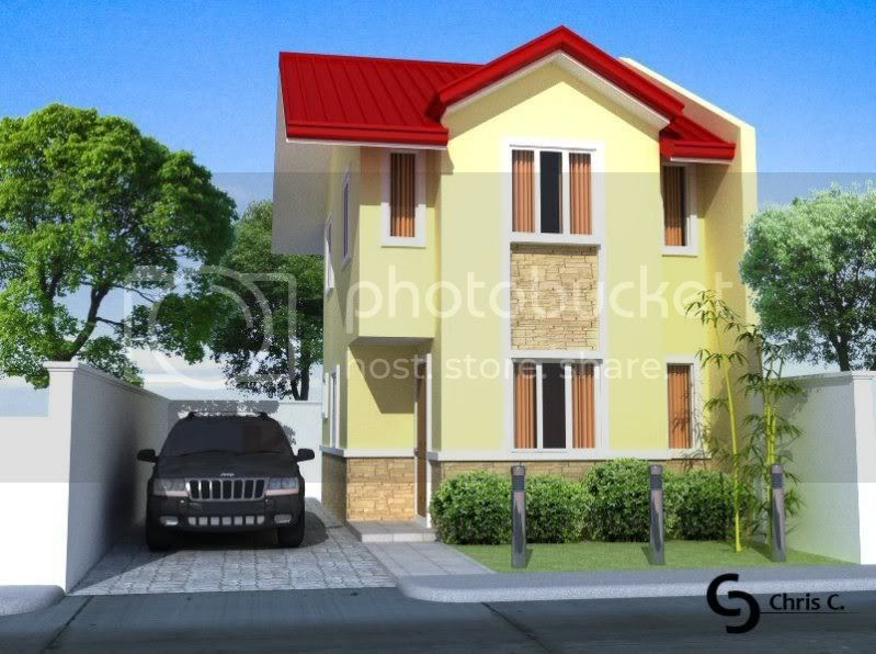 2 Storey House Exterior Su Podium Forum