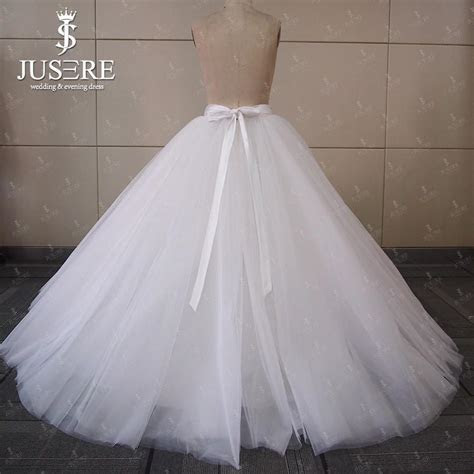 Jusere Sw0079 2016 Ivory Tiered Bridal Ball Gown Petticoat